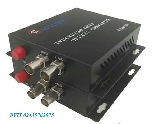 Quang video 2 kenh HL-2VD-20T/R 720 RS 485/PTZ