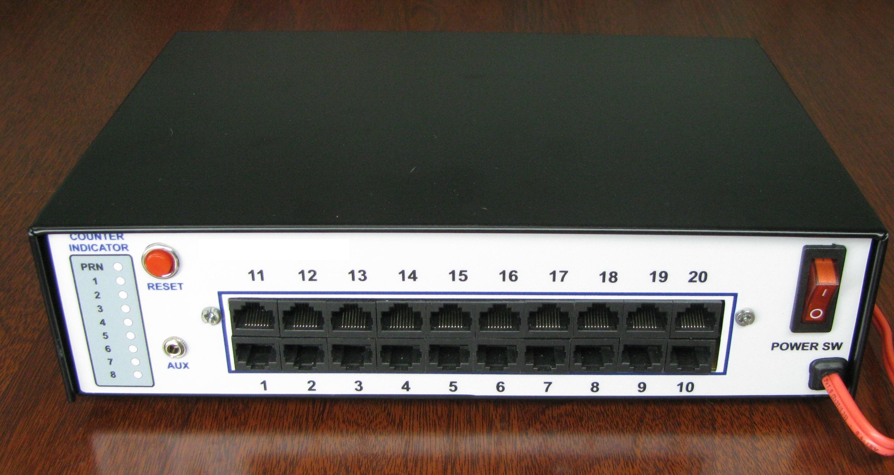 bộ xử lý TT cho 16 quầy